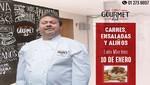 Chef Lalo Martins dicta talleres de Alta Cocina