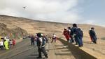 Minsa incorporó drone a equipos de rescate de víctimas de accidente en  serpentín de Pasamayo