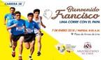Más de 10 mil vecinos participarán en maratón 'Lima Corre con el Papa'