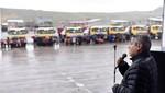 Divemotor entrega una importante flota de 17 volquetes Actros a Ecosem Smelter en cerro de Pasco