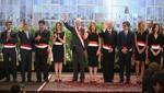 Presidente Kuczynski: 'Este gabinete representa la diversidad del Perú'