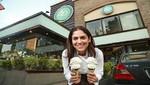 Vuelve el exquisito helado de Pisco Sour a Cafeladería 4D