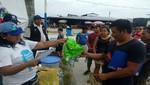 En Loreto y Ancash se reparten cerca de 8 mil cobertores de baldes para evitar proliferación del dengue