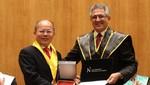 Investigador que innovó la ingeniería agrícola mundial es honoris causa por la UPN