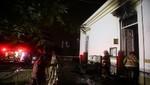 Incendio en área de informática del Hospital Víctor Larco Herrera fue controlado rápidamente por los bomberos