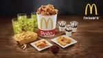 Mcdonald's lanza la nueva línea familiares con pollo crujiente