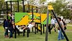 Miraflores implementa modernos juegos infantiles en sus parques