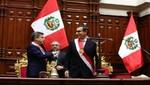 Galarreta impuso banda presidencial a Martín Vizcarra