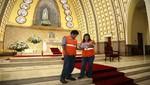 Iglesias de Miraflores se encuentran aptas para recibir a fieles por Semana Santa
