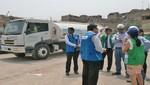 Sunass monitoreó restablecimiento del servicio en San Juan de Lurigancho