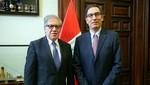 Jefe de Estado y Luis Almagro ultimaron detalles para la Cumbre de las Américas
