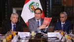 Presidente Vizcarra: 'Vamos a lograr el desarrollo si combatimos frontalmente la corrupción'