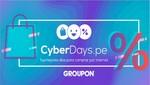 Principales ofertas de Groupon para CyberDays 2018