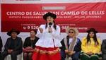Ministra Silvia Pessah inauguró Centro de Salud 'San Camilo de Lellis' de Chuquibambilla en Apurímac