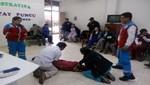 SAMU fortalece la respuesta a situaciones de emergencias en Huancavelica
