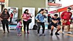 Promueven práctica de actividad física en espacios públicos de la capital