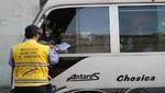 Municipio de Lima interviene a más de cien vehículos de los 'Chosicanos'