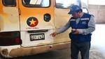 SAT interviene unidades de transporte público con deudas que superan los 200 mil soles