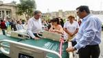 Presidente de la República y Ministra de Salud entregan camas y equipos al hospital Loayza valorizados en unos S/ 2 millones