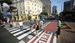 Novedoso crucero peatonal de Miraflores ahorra tiempo a transeúntes [VIDEO]