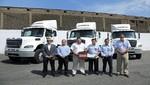 Divemotor entrega 3 camiones freightliner a empresa TRANSLER EIRL