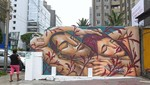 Festival de Muralización en espacios públicos en Miraflores