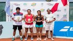 Selección peruana se llevó el título del Junior Open de Tenis