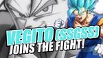 Vegito SSGSS se suma a la pelea en DRAGON BALL FighterZ