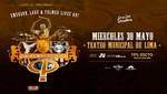 Carl Palmer en concierto en el Teatro Municipal de Lima