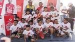 Fútbol y talento mostraron 217 niños con clínica deportiva impulsada por Camisea en Pisco