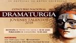 Municipalidad de Lima lanza Concurso Nacional de Dramaturgia para Jóvenes Talentos 2018