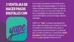 3 ventajas de hacer pagos digitales con Yape
