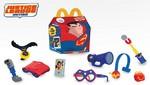 Los personajes de Justice League Action en la nueva colección de la Cajita Feliz de McDonald's