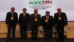 Representantes del sector agrario y minero inauguran Agromin 2018