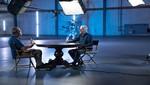Steven Spielberg y Arnold Schwarzeneger juntos en 'La historia de la ciencia ficción por James Cameron'