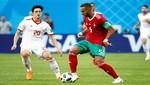 Mundial Rusia 2018: Irán venció a Marruecos por 1-0