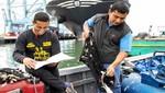 Cuatrocientos pescadores artesanales estudian en los puertos