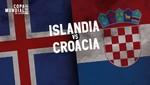 Mundial Rusia 2018: Islandia vs Croacia [EN VIVO]