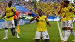 Mundial Rusia 2018: Colombia avanza a la siguiente ronda del torneo [VIDEO]