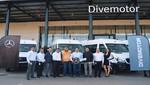 Divemotor entrega flota de 13 Vans Mercedes-Benz a Transportes Linea S.A. en Arequipa