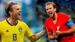 Mundial Rusia 2018: Suecia vs Inglaterra [EN VIVO]