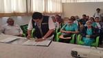 Minsa y Diresa firman compromiso para trabajar juntos contra la tuberculosis en Loreto