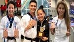 Peruanos trajeron medallas del Panamericano de Taekwondo