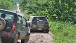 Tres días de aventuras off road en la selva alta a bordo de camionetas Suzuki