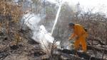 Rápida acción de guardaparques bomberos forestales controló incendio en Reserva Nacional de Tumbes