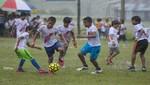 220 niños de 7 comunidades nativas de la Amazonía disfrutan el fútbol en clínica deportiva