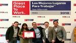 Atento en el top 10 de los Mejores Lugares para Trabajar para Millenials