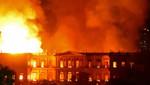Las llamas dieron cuenta del Museo Nacional de Río de Janeiro