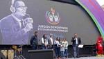 Ministro Alfaro inaugura Juegos Deportivos Escolares Nacionales 'Daniel Peredo'