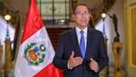 Presidente Vizcarra planteó cuestión de confianza al Congreso por reformas y convoca a Legislatura Extraordinaria